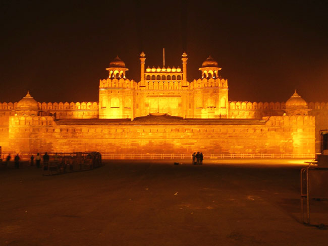Light And Sound Show At Red Fort Delhi