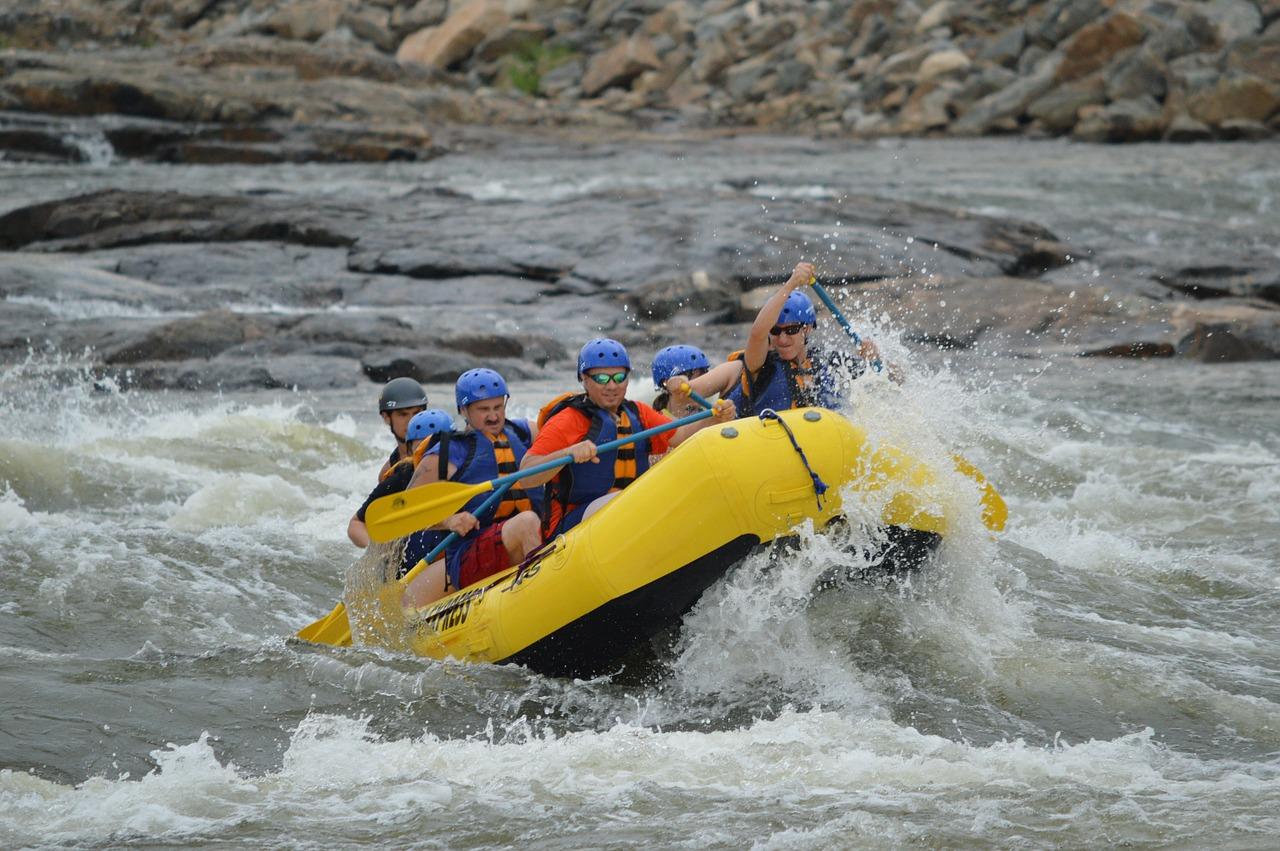 White Water River Rafting | Camping In Rishikesh