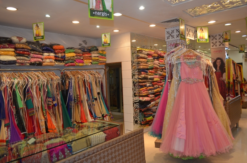 One of the shop of Karol Bagh