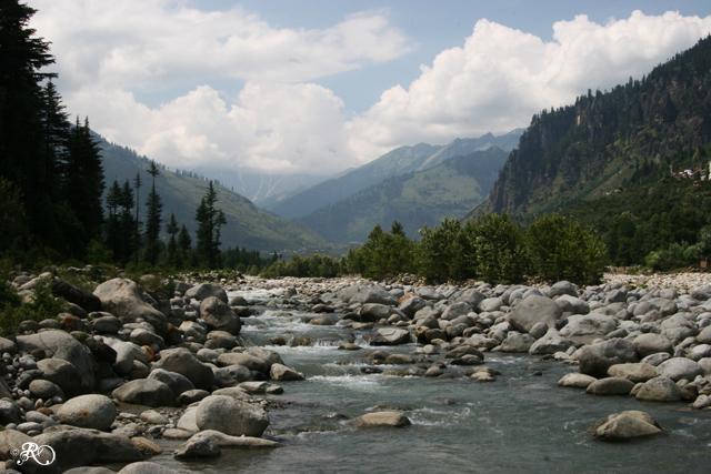 Beas River Manali Himachal Pradesh