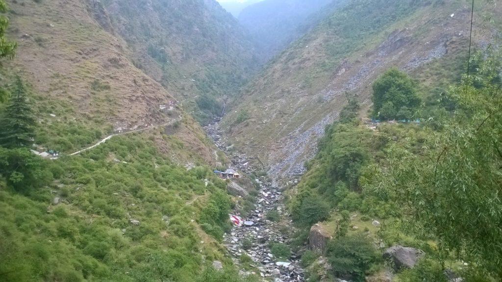 Bhagsu Fall Dharamshala Himachal Pradesh