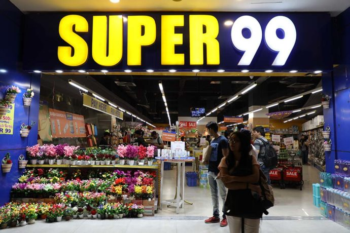 low-priced heaven of Super99 store