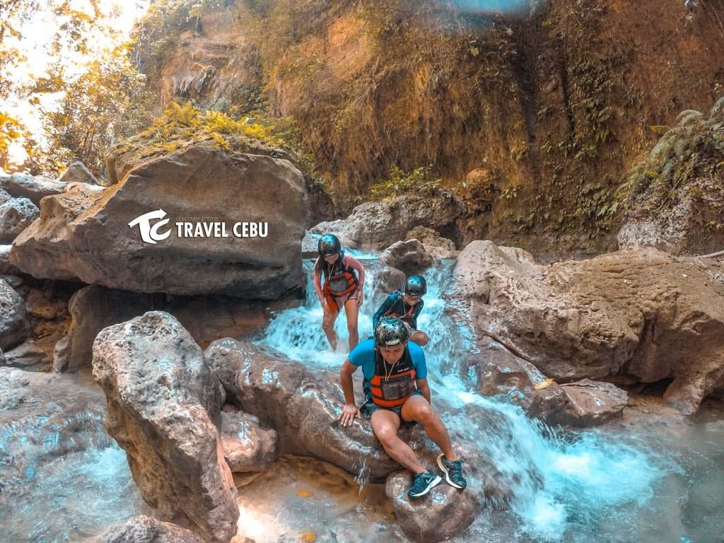 Canyoneering Adventure in Kawasan Cebu